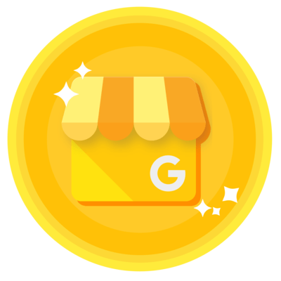 Badge de certification Google My Business.